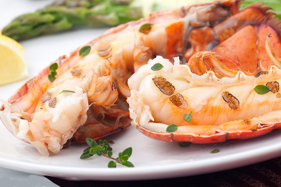 龙虾三吃拼盘