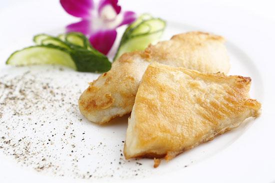 法式嫩煎鳕鱼