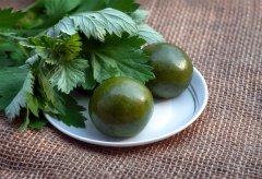 不时不食・清明节   把这些清明果吃下肚,整个人都绿了~~